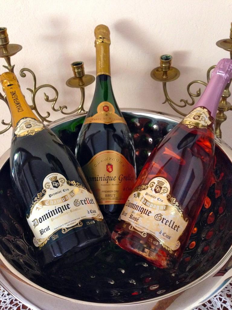 Cuvées Champagne Dominique Grellet