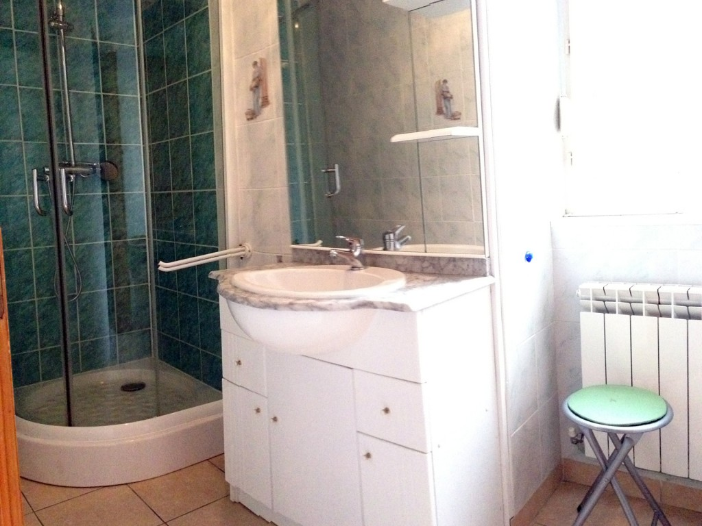Gîte des Blés - salle de bain - douche cabine